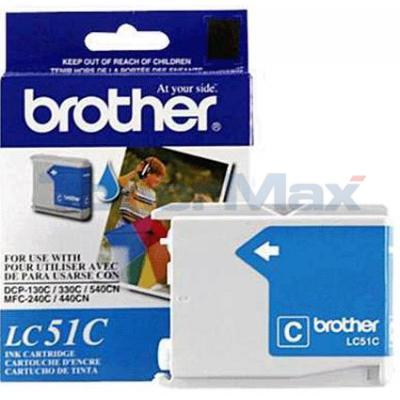 BROTHER DCP-130C INK CARTRIDGE CYAN 
